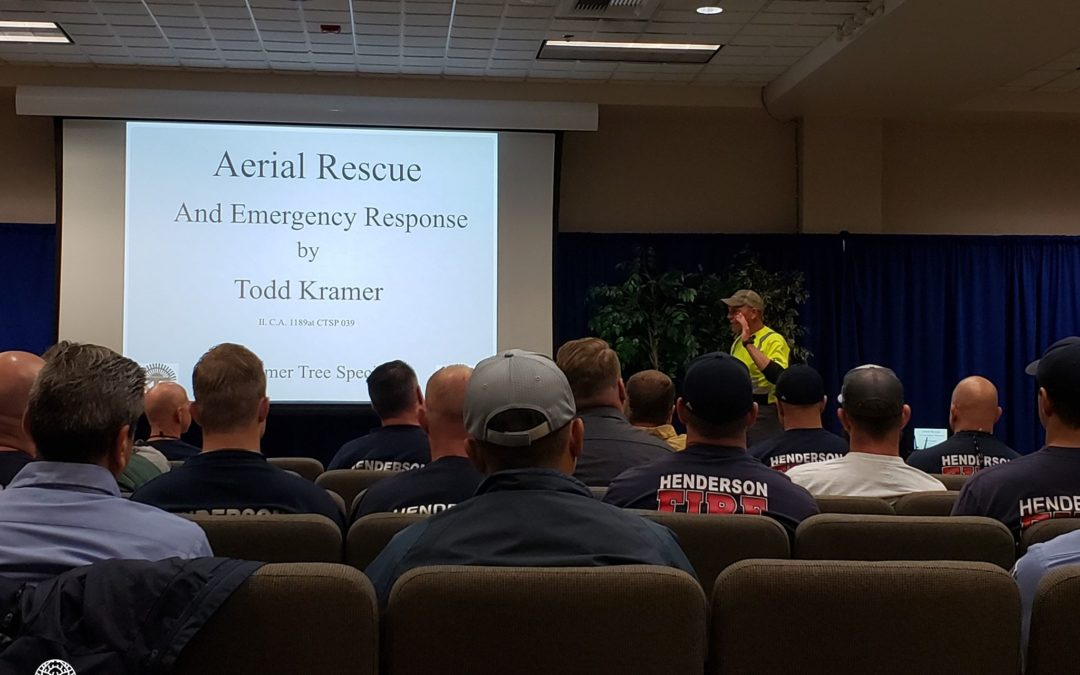 First Choice Tree Service Holds Aerial Rescue Training Workshop